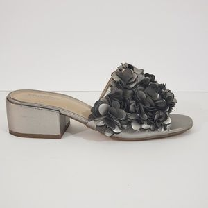 Charles by Charles David Silver Flower Mules